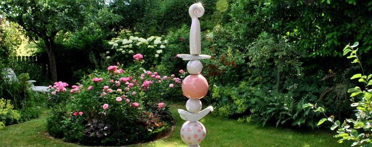 Gartendeko mit Soft-Ton DIY Anleitung