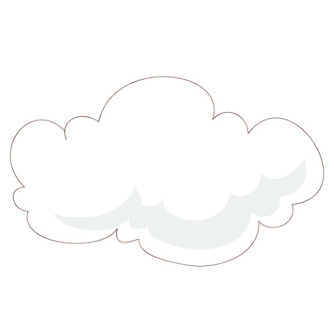 White clouds, Cloud Drawing Caricature, A cartoon clouds, cartoon Character, white, text png free png download