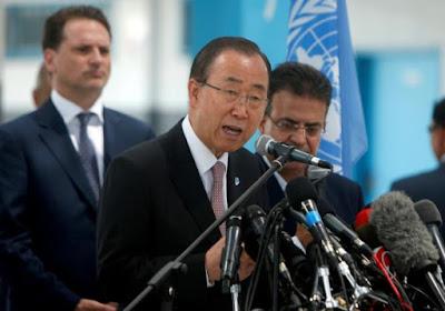 Sekjen PBB : Kondisi Aleppo Saat Ini Lebih Buruk Dibanding Rumah Jagal