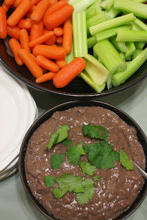 Light & Spicy Black Bean Dip