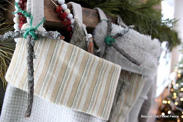 Natural Boho DIY Stockings