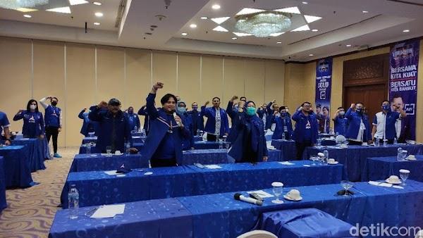 Seruan 'Lawan Moeldoko!' Bergemuruh di Rakorda Demokrat Jateng