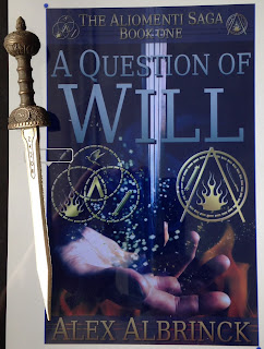 Portada del libro A Question of Will, de Alex Albrinck