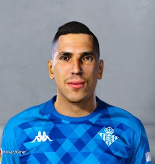 PES 2020 Faces Joel Robles by Danger