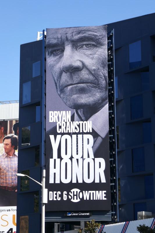 Bryan Cranston Your Honor billboard
