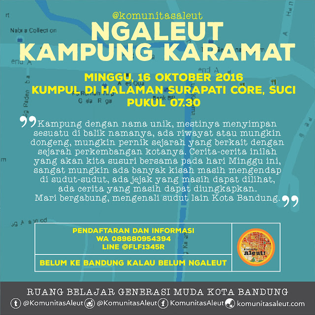 poster ngaleut kampung karamat