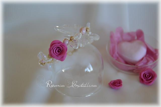bracelet romantique et champetre pour mariée