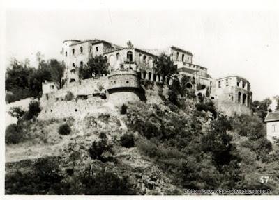 Vue de Royat, hier,  noir et blanc Royat, le Paradis.