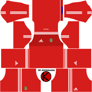 Mexico Kits 2017 -  Dream League Soccer