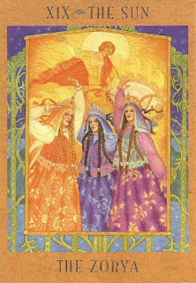 Goddess Tarot - The Zorya