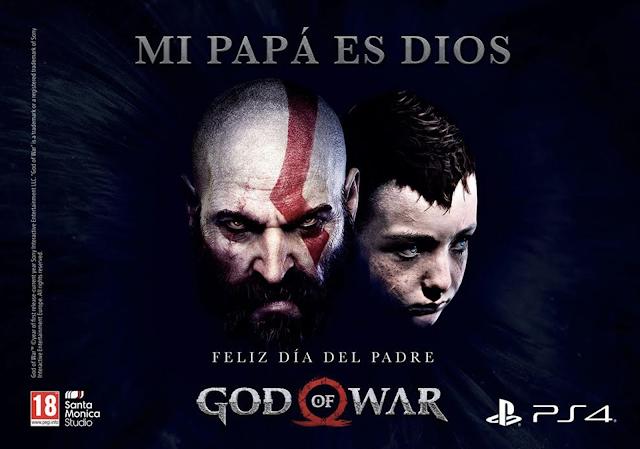 God of war felicita el día del padre con campaña y concurso