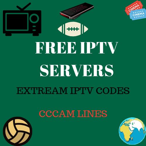 Free iptv,cccam servers,xtream iptv codes