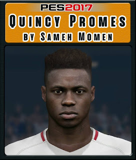 PES 2017 Faces Quincy Promes by Sameh Momen
