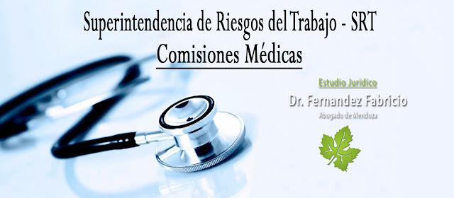 Comisiones Médicas. SRT