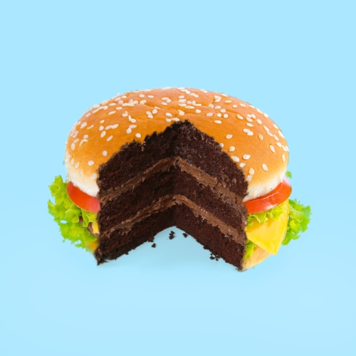 """Hamburger Cake"" por Paul Fuentes 