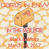Cards In Envy~Black & White In the Mail Box Favourite
