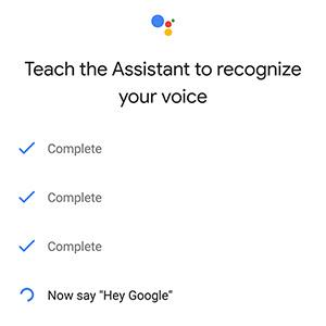 hey google on google assistance