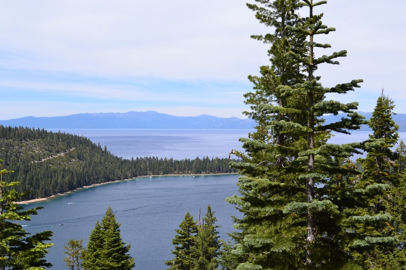 Lac, tahoé, californie, usa