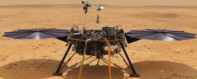 NASA's Perspective the Mars Lander is in a state of emergency and has gone into hibernation.