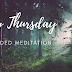 Holy Thursday - a guided meditation
