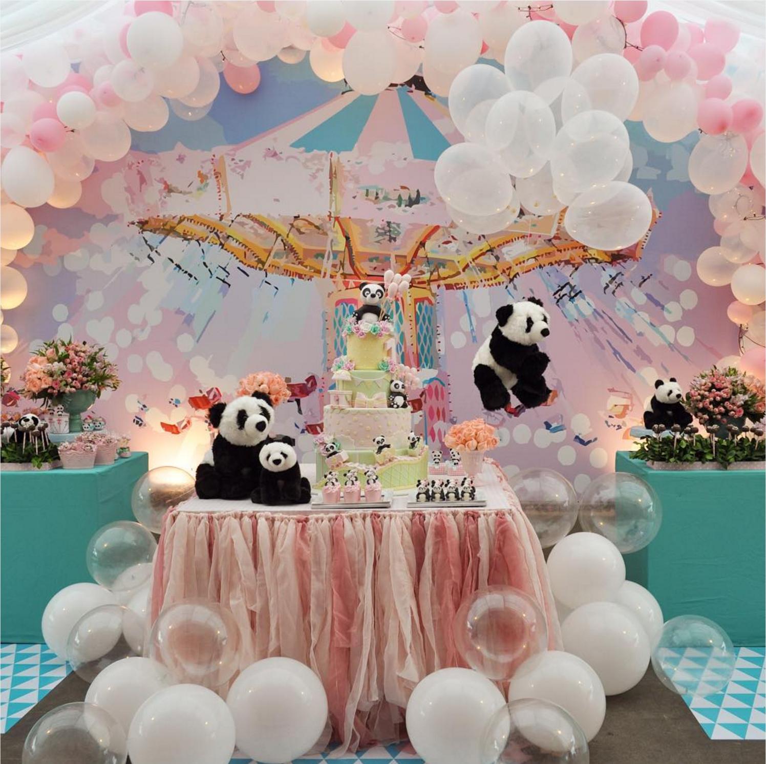 Un panda para la fiesta de baby shower for Fiesta baby shower decoracion