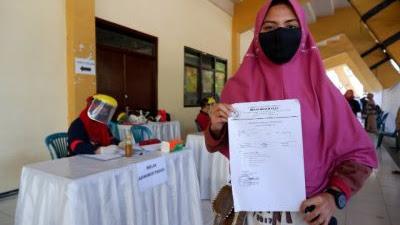 Peserta Tes UTBK di  PTN Surabaya Wajib Tunjukkan Hasil Rapid Test NonReaktif