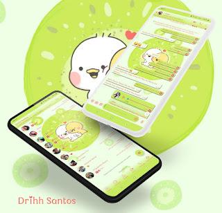 Dack Ling Theme For YOWhatsApp & Fouad WhatsApp By Driih Santos