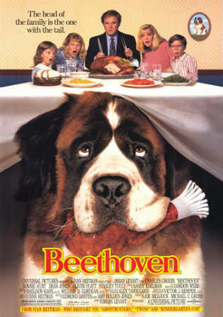 Beethoven 1992 BluRay 280MB Hindi Dual Audio 480p ESub