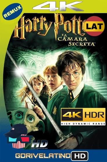 Harry Potter y La Cámara Secreta (2002) REMUX 4K HDR Latino-Ingles MKV