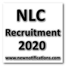 NLC_Recruitment 2020