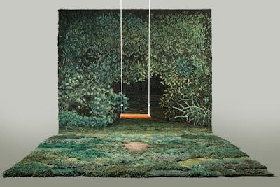 Reciclar pedazos de alfombra o tapetes