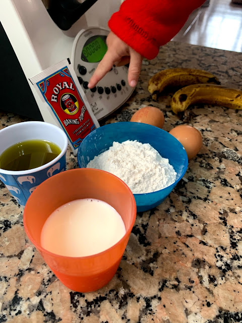 cocinar thermomix con niños