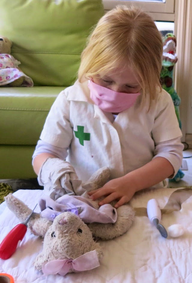 Learn with Play at Home Toy Doctor Pretend Play with free Printable