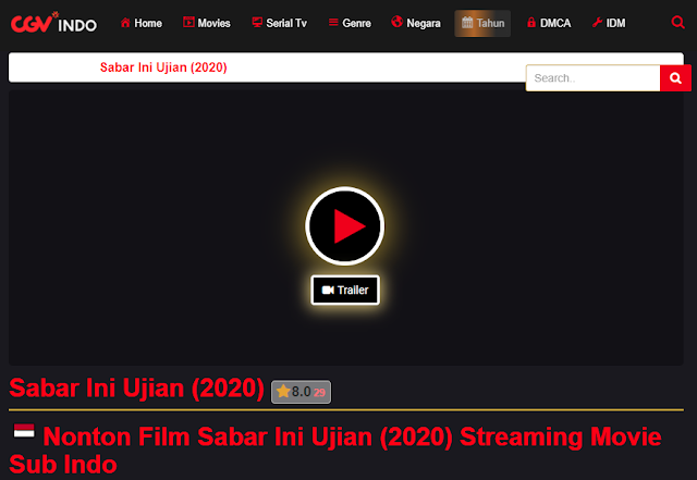 Nonton Film Sabar Ini Ujian (2020) Lengkap Link Terbaru 2021