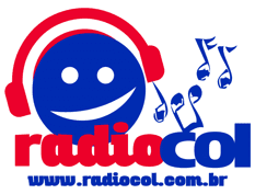 Logotipo oficial do site Radiocol Brasil