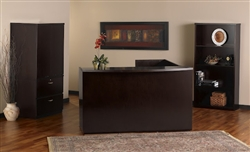 Mira Reception Desk by Mayline