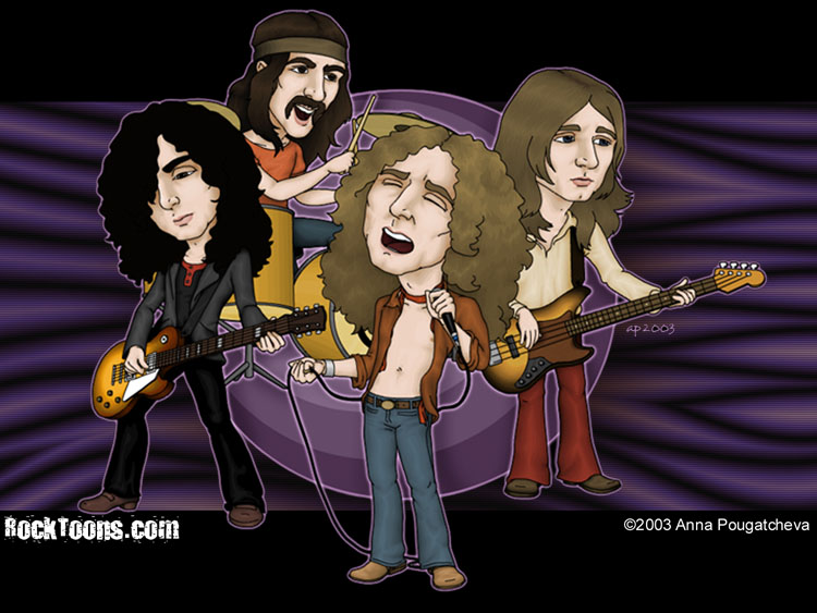 Wallpapers Led Zeppelin y Guns And Roses