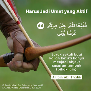 Quote Sayyidina Ali bin Abi Thalib