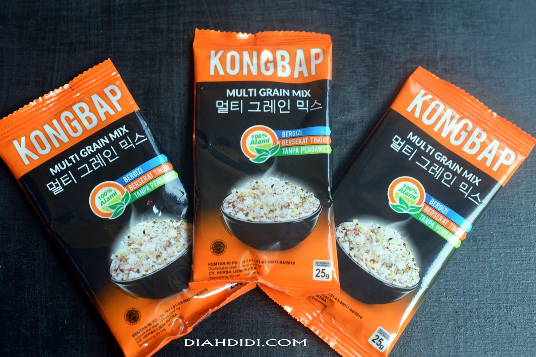 Diah Didis Kitchen Kongbapberas Sehat Kaya Serat Kongbap Multi Grain Mix