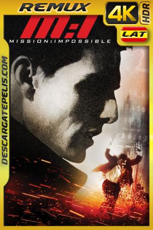 Misión Imposible (1996) BDREMUX 4K HDR Latino – Ingles