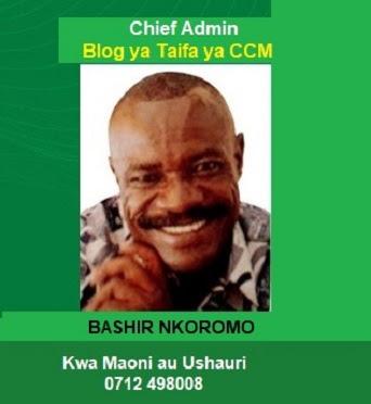 Mawasiliano na Blog ya Taifa ya CCM (CCM Blog)👇🏻