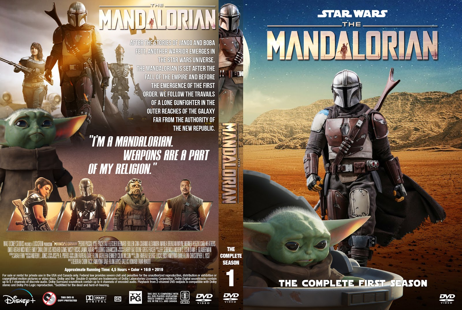 The Mandalorian Season 1 Dvd Cover Cover Addict Free Dvd Bluray Covers And Movie Posters