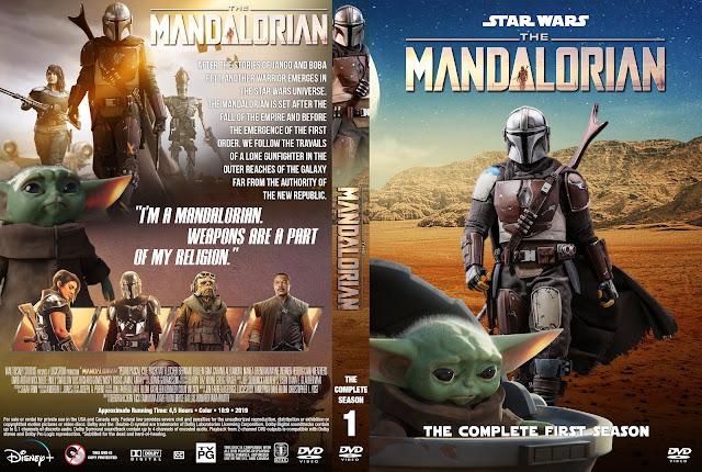 The Mandalorian Season 1 DVD Cover