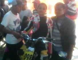 Fahrul Iksan ,Pilih,  Honda ,Scoopy, Dalam, Road ,Race ,Hippmi ,Selayar 2011