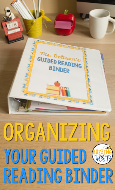 Is your guided reading binder a mess? Or are you lost when you try to figure out how to get your binder organized? These tips will help you organize your materials and tools, keep your lesson plans for your groups in order, find your data quickly, and be prepared for your guided reading lessons! Ideas for setup and pictures plus a video of my upper elementary binder help you envision it!