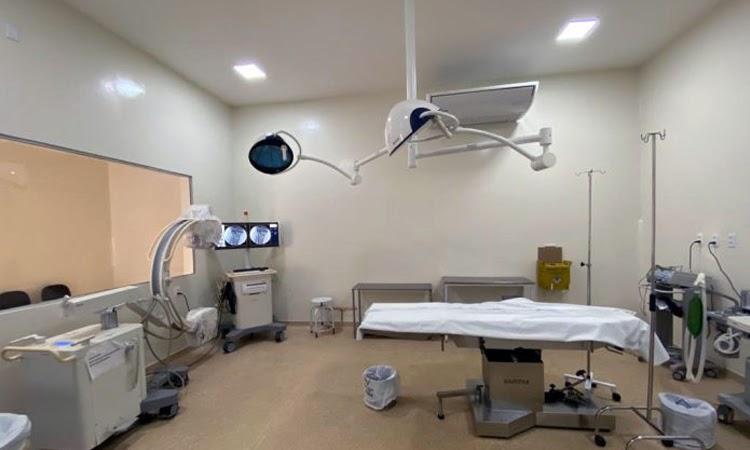Governo da Bahia amplia centro cirúrgico no Hospital Regional de Guanambi