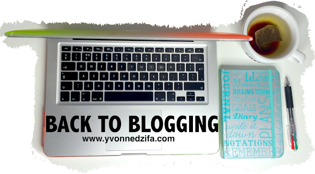 Back to blogging at www.yvonnedzifa.com