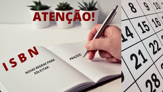 ISBN: Novas Regras para Solicitações
