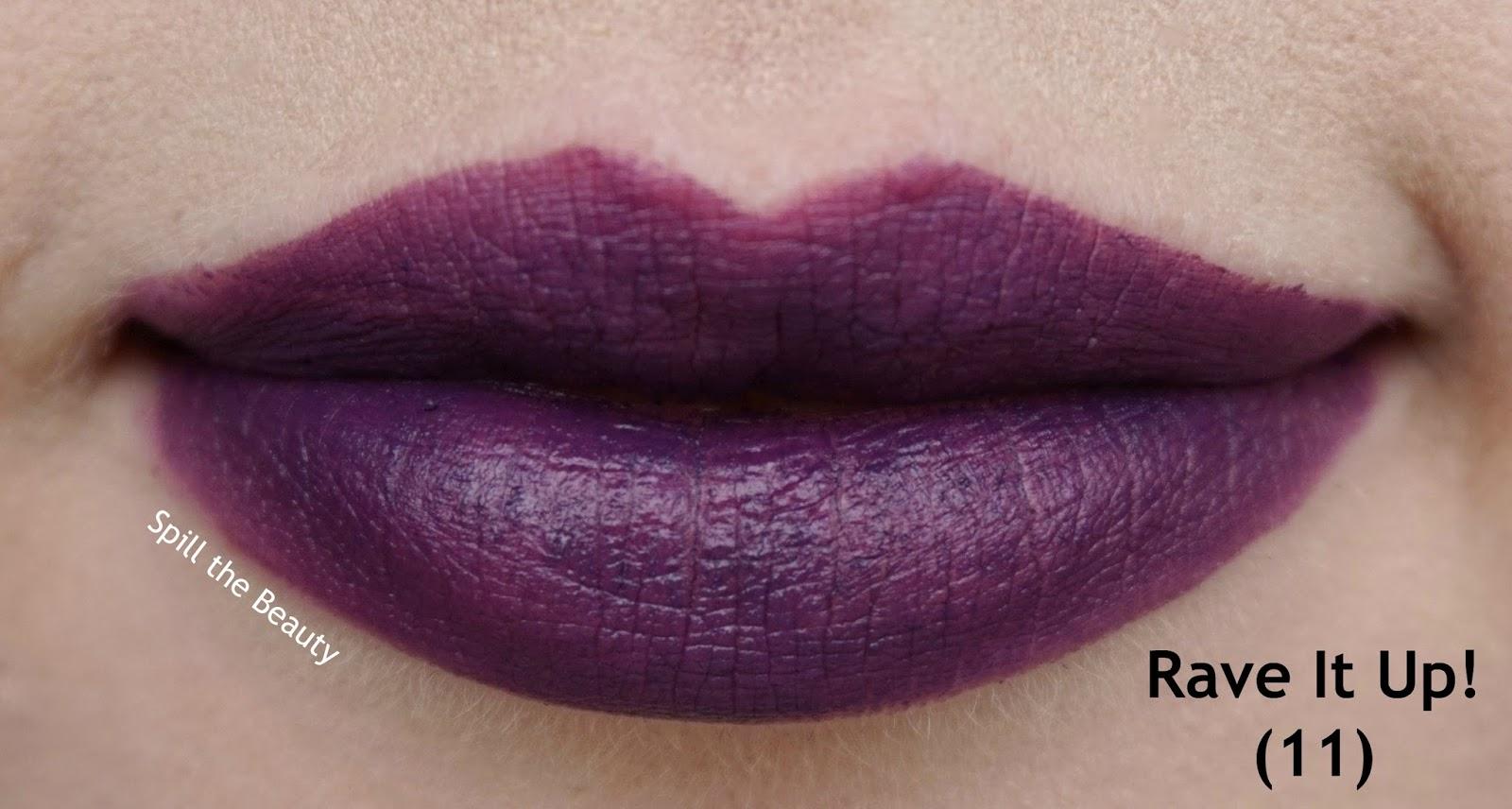 essence matt matt matt vibrant shock lipstick review swatches 11 rave it up! - lips