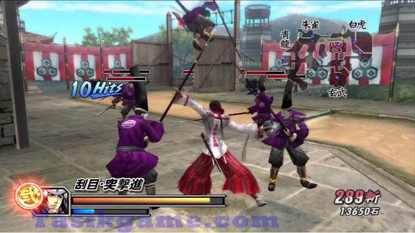 Sengoku BASARA 2 Heroes PS2 ISO Screenshots #3